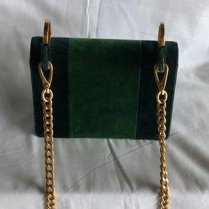 58a60fcf6548 Prada Bags - Prada Pattina Velvet Shoulder Bag